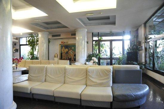 La Sala TV dell'Hotel Mariotti