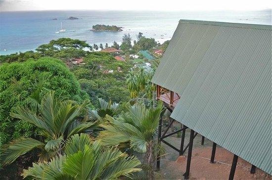 Mango Lodge: Vue du balcon