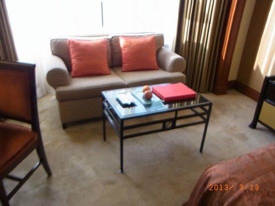 Diamond Hotel Philippines: ウェルカムフルーツもおいしかった