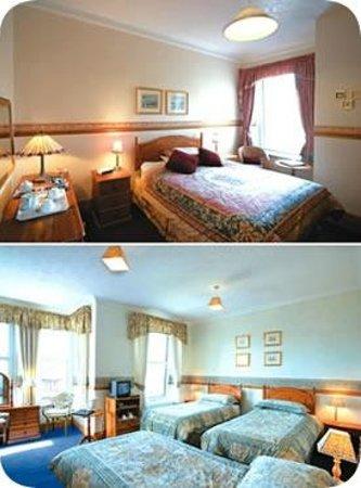 Briton Ferry, UK: Double Bedroom
