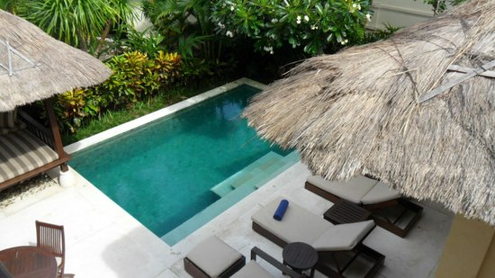 Karma Kandara: Private pool - all villas have one and are centre pieces