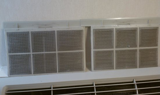 Holiday Inn Burlington Hotel & Conference Centre: Room Air Filters
