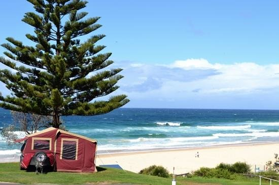 Surfbeach Holiday Park: View from our pitch