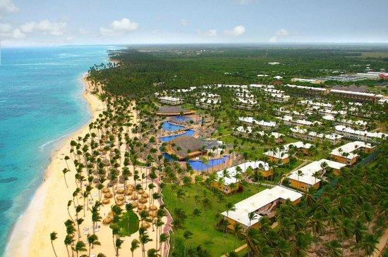 Sirenis Punta Cana Resort Casino & Aquagames: Aerial