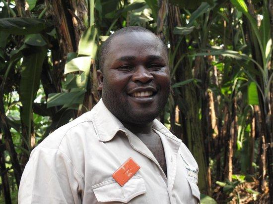 Sanctuary Gorilla Forest Camp: Ben with Gorilla Forrest Camp