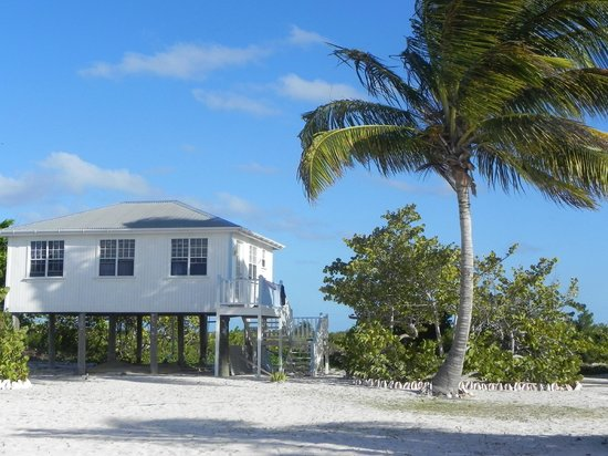North Beach Island: The House you stay in