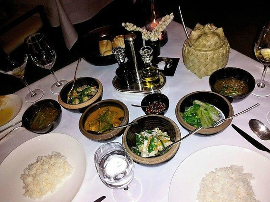 Amansara: Nightly meal