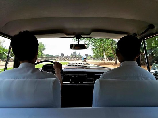 Amansara: Provided ride from airport to hotel