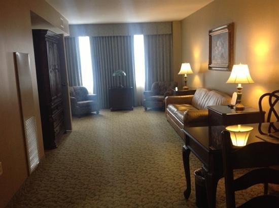Carnegie Hotel: my suite