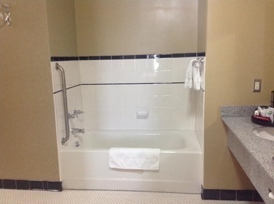 Carnegie Hotel: huge tub
