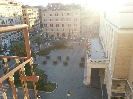 Hotel Impero: View from the balchony