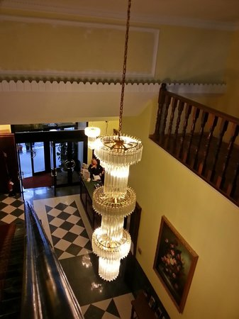 Hotel Impero: The entrance