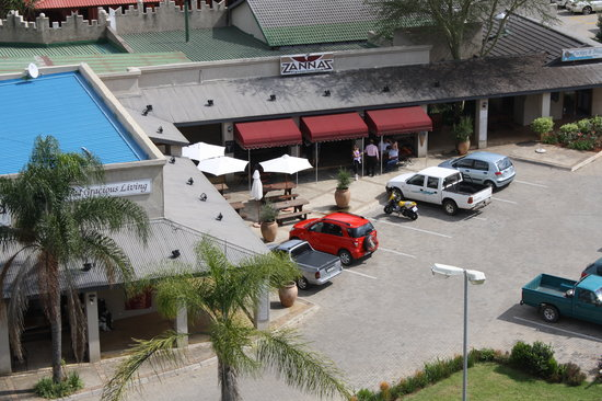 Zanna's Flavour Junction: Aerial View of The Bagdad Centre
