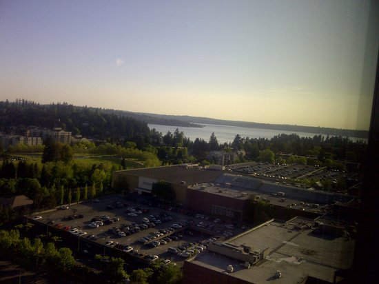 The Westin Bellevue: View from the Hotel room