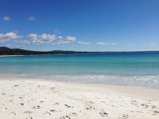 Tasmania, Australia: The sea is chrystal clear