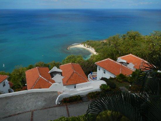 Windjammer Landing Villa Beach Resort: villa 412 view