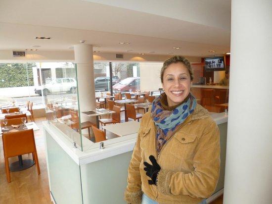 Intercity Montevideo: Cafe da manhã