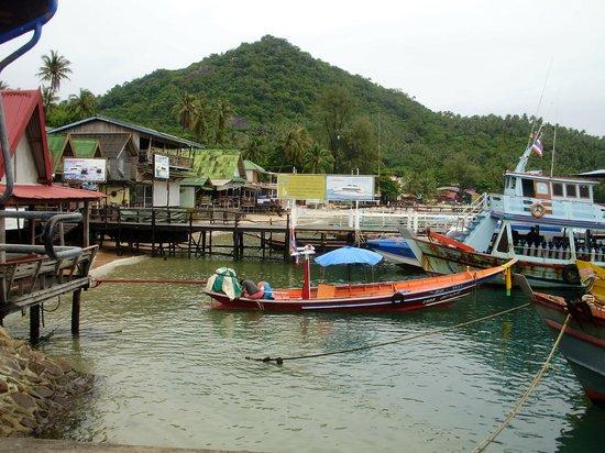 Easy Divers - Koh Tao: El puerto