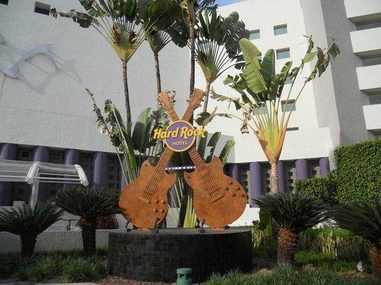Hard Rock Hotel Vallarta : In front of Hotel