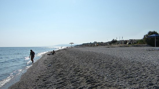 Stafilia Beach: пляж.