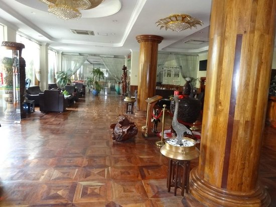 The Khemara Battambang I Hotel: Bloc A - Réception / Lobby