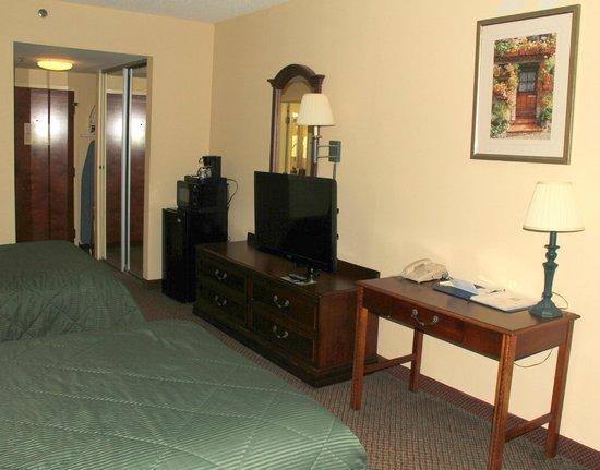 Comfort Inn Olde Town : 2double beds