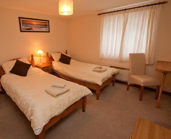 Cornishman Inn Tintagel: standard twin
