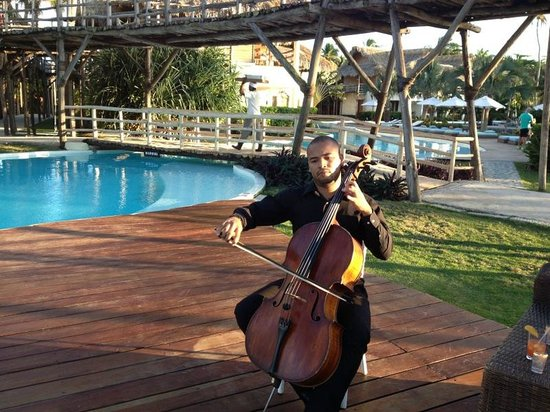 Zoetry Agua Punta Cana: cellist