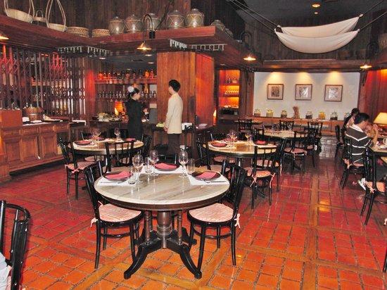 Spice Market: Restaurant innen