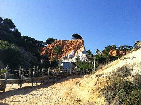 Pine Cliffs Ocean Suites: Strandzugang