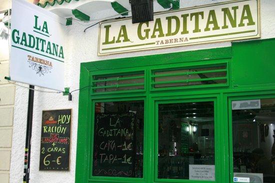 Taberna La Gaditana : Fachada de la Gaditana