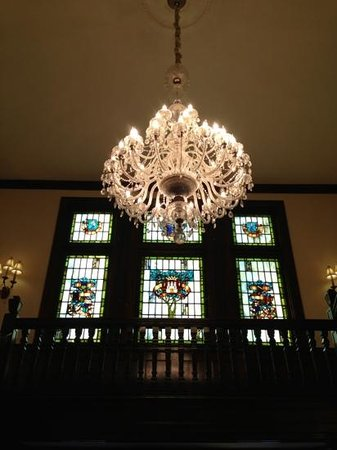 The Mansion at Maple Heights: Beautiful original craftsmanship around the home.