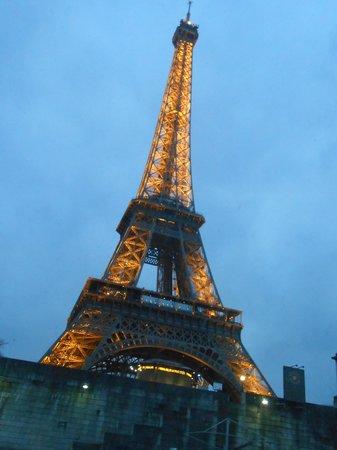 Hotel Abbatial Saint Germain: immancabile tour Eiffel