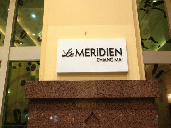 โรงแรมเลอ เมอริเดียน เชียงใหม่: Entrada
