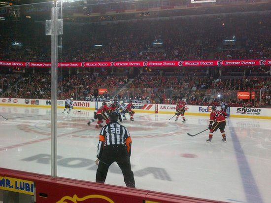 The Scotiabank Saddledome: Let's play