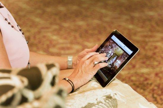 Hotel Estherea: Hotel iPad