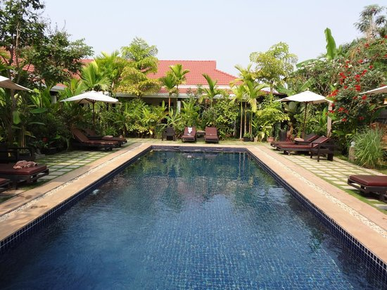 The Moon Boutique Hotel: the pool