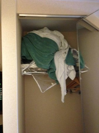 Embassy Suites by Hilton Baltimore BWI - Washington Intl. Airport: surprise in closet