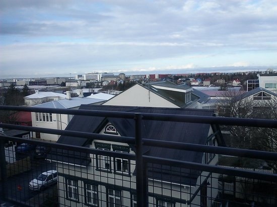 Hotel Holt: balcony