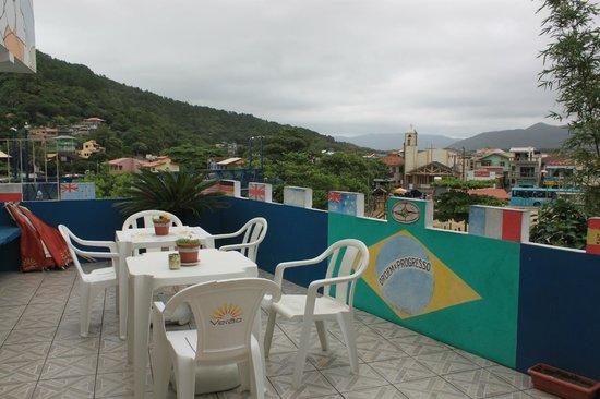 The Backpackers Share House Floripa : balcony/roofgarden