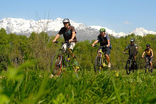 Province de Turin, Italie : Mountain Bike in provincia di Torino