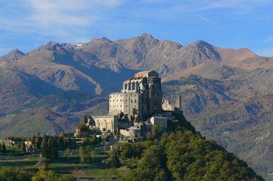 Province de Turin, Italie : Sacra di San Michele