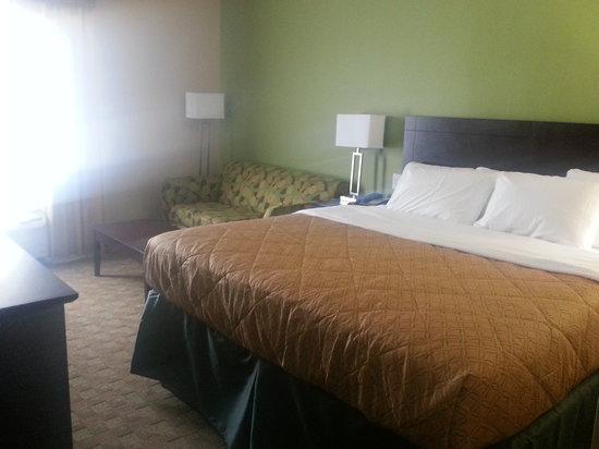 Quality Inn: King Bed