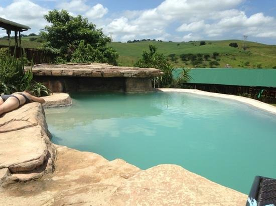 Rain Farm Game and Lodge: pool