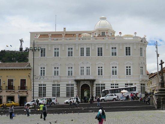 Casa Gangotena: Exterior of hotel
