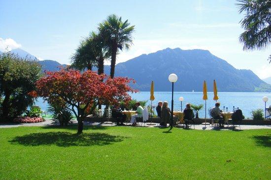 Hotel Beau Rivage: Amazing view
