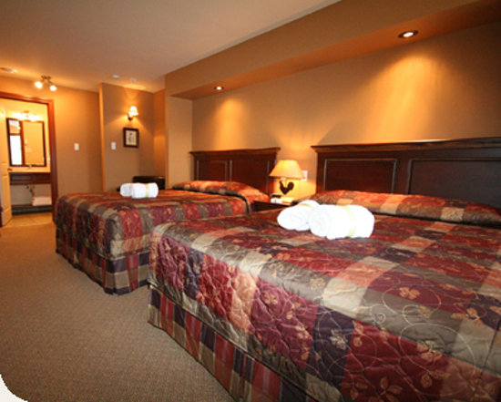 Auberge du Lac Morency : Comfort double room