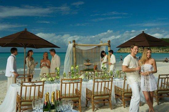 Sandals Grande Antigua Resort Spa Weddings At