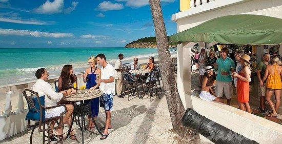 Sandals Grande Antigua Resort Spa Beach Bar At