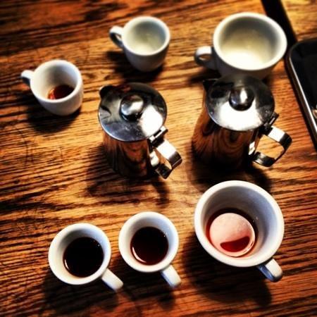 Photo of Cafe Drop Coffee at Stockholm, Sverige Wollmar Yxkullsgatan 10, Stockholm 118 50, Sweden